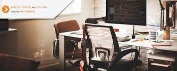 Schreibtisch Auf Rollen Kleine Pc Tische Auf Rollen Für Ihr Wg Zimmer