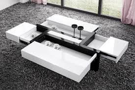 table cuisine escamotable tiroir table de salon avec rangement table basse de salon ronde objets