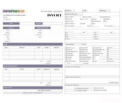 free computer repair service invoice template excel pdf saneme