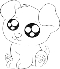 Best Cute Puppy Pictures To Color 24 For Picture Coloring Page Color Ins