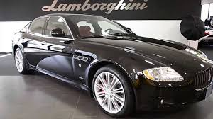 black maserati sedan 2011 maserati quattroporte gloss black lc261 youtube