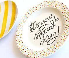 it s your special day plate it s your special day small rimmed plate by aedriel originals via