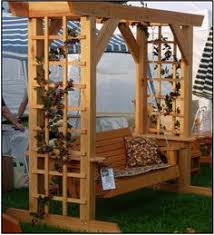 Swing Arbor Plans Arbor Swing Plans Outdoor Furniture Plans U0026 Projects For Wood