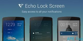 lock screen apk echo notification lockscreen apk 0 9 108 echo