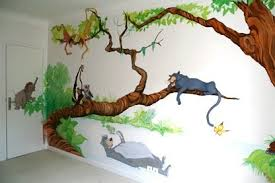 dessin mural chambre des fresques et peintures murales pour habiller vos murs d une