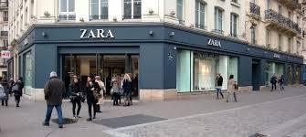 siege inditex zara s clothing 88 rue rivoli beaubourg