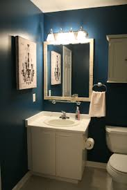navy blue bathroom ideas blue wall bathroom blue bathroom wall home decorating