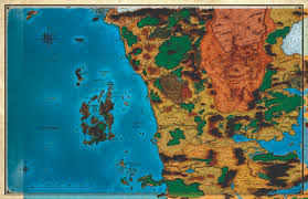 Forgotten Realms Map Mike Schley U0027s Massive Forgotten Realms Map From Scag Page 22