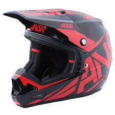 answer motocross helmets answer new mx 2017 ansr evolve 3 dirt bike black red motocross