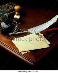 Quill Desk Lamp Quill Pen Writing Desk Stock Photos U0026 Quill Pen Writing Desk Stock