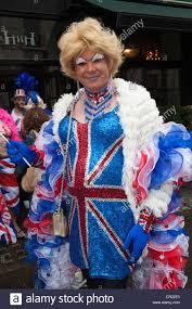 drag queens celebrate at queen elizabeth ii diamond jubilee stock