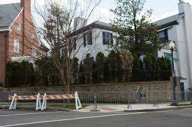 ivanka trump barack obama d c home barricades in photos curbed dc