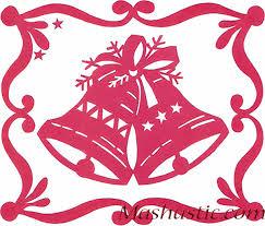 christmas paper cutting bells mashustic com