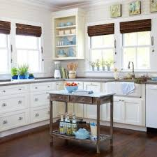 Cottage Style Kitchen Island by Create A Country Cottage Style Kitchen
