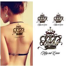 mer enn 25 unike ideer om princess crown tattoos på pinterest