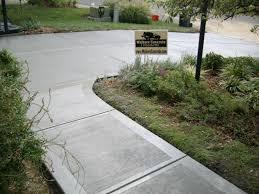 Stamped Concrete Backyard Ideas by Concrete Driveway Replacement Cincinnati Ohio Landscaping