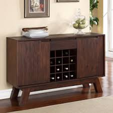 Kitchen Sideboard Cabinet by Modus Portland Solid Wood Sideboard Medium Walnut Hayneedle