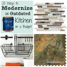 modern kitchen on a budget modernizing outdated kitchens on a budget a musing foodie