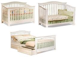 Crib Converts To Toddler Bed Parabolic Mirror Convertible Crib With Conversion