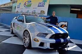 need for speed mustang for sale actor ramon rodriguez poses with need for speed mustang at