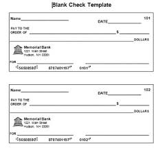 blank check template by tracy chabot teachers pay teachers