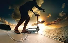 saltwater bow mount riptide sm