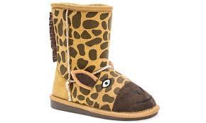 groupon s boots muk luks toddler s zoo boots groupon goods