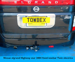 nissan elgrand accessories uk nissan towbar pictures