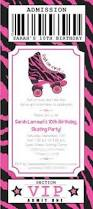roller skating birthday party invitation image collections