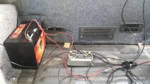 solar power installation for delica l300 explorex