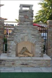 Backyard Fireplace Plans by Building An Outdoor Fireplace With Cinder Block Home Design