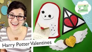 harry potter valentines tutorial laurenfairwx youtube