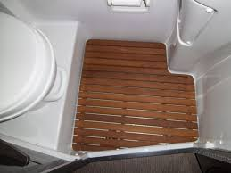 Teak Bathroom Mat Bathroom Exciting Teak Shower Mat With Cozy Toto Toilet For Small