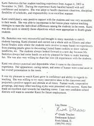 sample recommendation letter for primary students cover