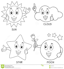 Weather Map Symbols Weather Map Coloring Pages
