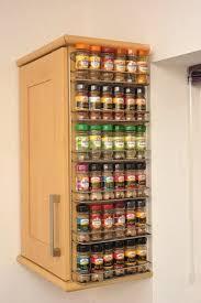 kitchen spice storage ideas best 25 spice racks ideas on spice rack organization