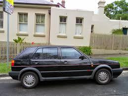 volkswagen hatchback 1990 aussie old parked cars 1990 volkswagen golf gti mk2