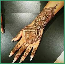 mehndi design back and front with excellent creativity in australia