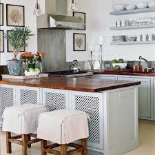 Coastal Living Kitchens - chic coles kitchen wall dilemma