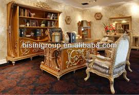 Luxury Office Desk Bisini Carved Luxury Office Desk Set High Quality Designed