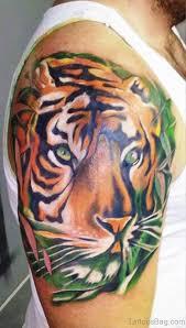 44 tremendous tiger tattoos on shoulder