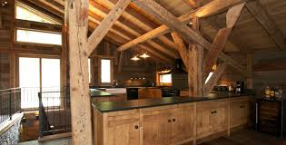 Lodge Kitchen by Infinity Lodge In Chamonix By Skiboutique