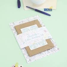 letter writing paper sets personalised illustrated letter writing set by the green gables personalised illustrated letter writing set