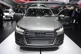 Audi Q7 2015 - audi q7 e u2011tron 3 0 tdi quattro u0026 3 e tron at 2015 frankfurt motor show