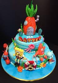spongebob cake cake by davide minetti cakesdecor