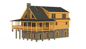 decatur rear elevation southland log homes like that plans inc