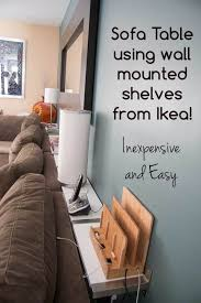 Sofa Table Against Wall Best 25 Wall Behind Sofa Ideas On Pinterest Wall Behind Couch