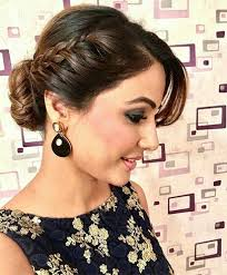farewell hairstyles 35 simple and trending hairstyles with sarees 2018