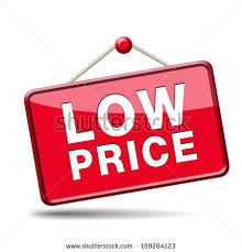 lowest price lowest price special offer bargain sales stock illustration