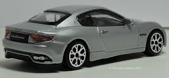 custom maserati sedan two lane desktop bburago 1 43 maserati granturismo